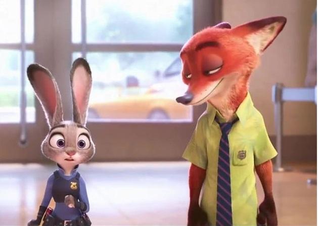 可爱 疯狂动物城公仔狐狸尼克兔子朱迪毛绒玩具狐狸玩偶周边抱枕手办