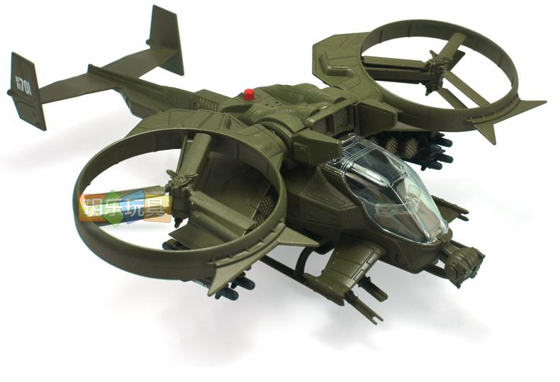 升辉阿凡达蝎式武装战斗直升机军事飞机模型 声光版儿童礼品玩具