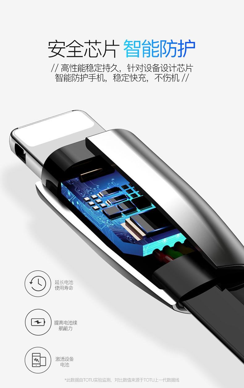 三合一数据线双苹果安卓type-c手机通用适用小米华为iphonex一分二