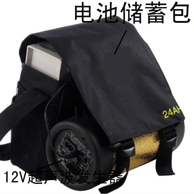 套餐c二全套:头盔 55w美国狩猎者狩猎灯 40a锂电池+5a充电器 背包图片
