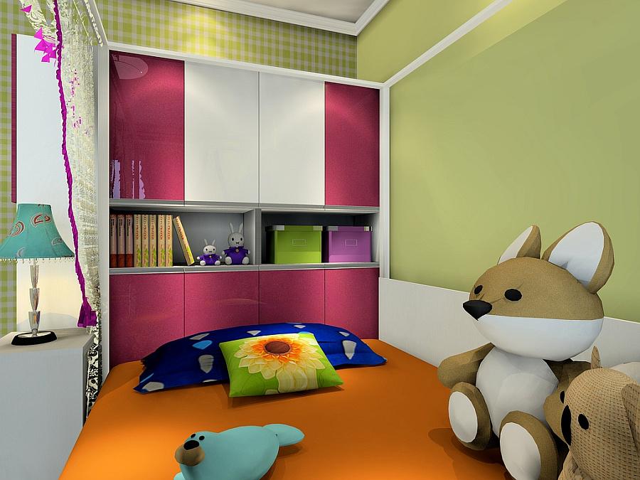 尚品宅配 衣柜 榻榻米床 书柜 书桌 衣柜组合 全屋定制家具 空间参考