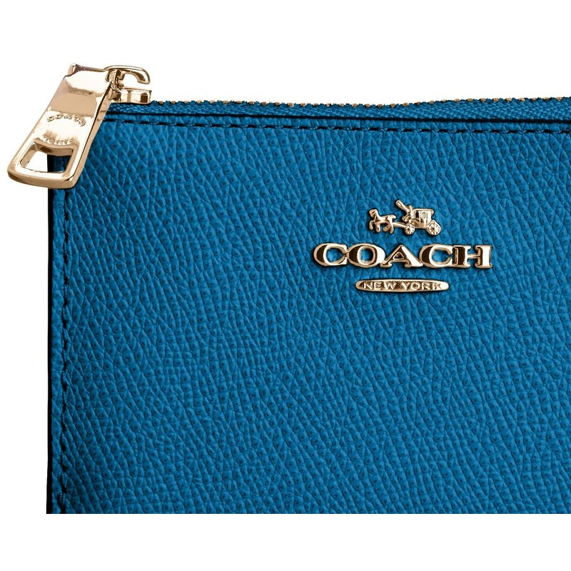 coach gray wallet  coach 52394