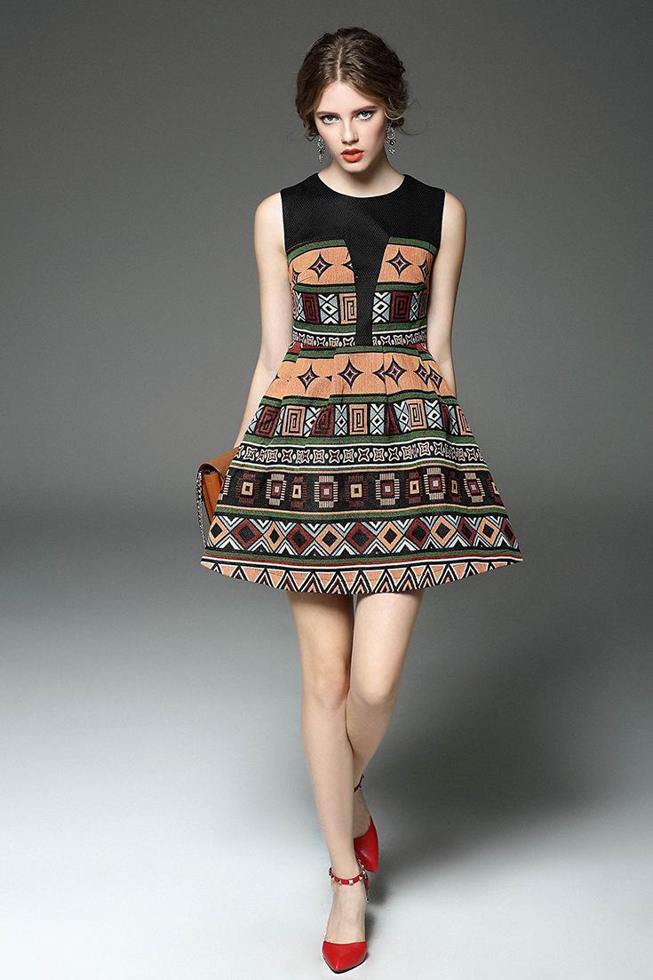 2014 2015 t台 连衣裙 裙 时装秀 时装周 秀场 走秀 735_1103 竖版 竖