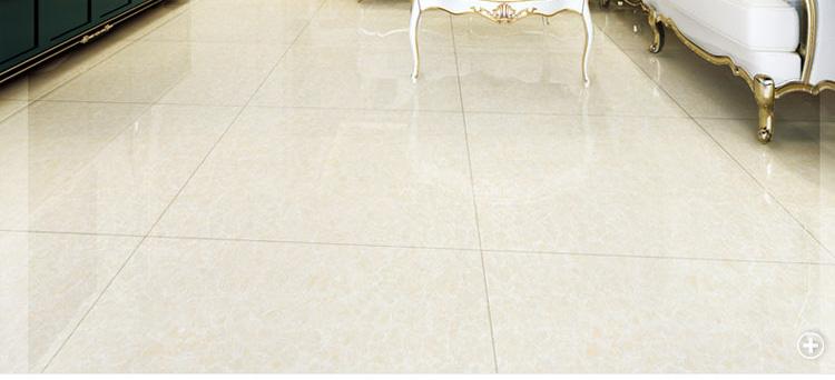 安华瓷砖地板砖防滑 客厅地砖800*800 米白浅黄木纹抛光砖玻化砖瓷砖
