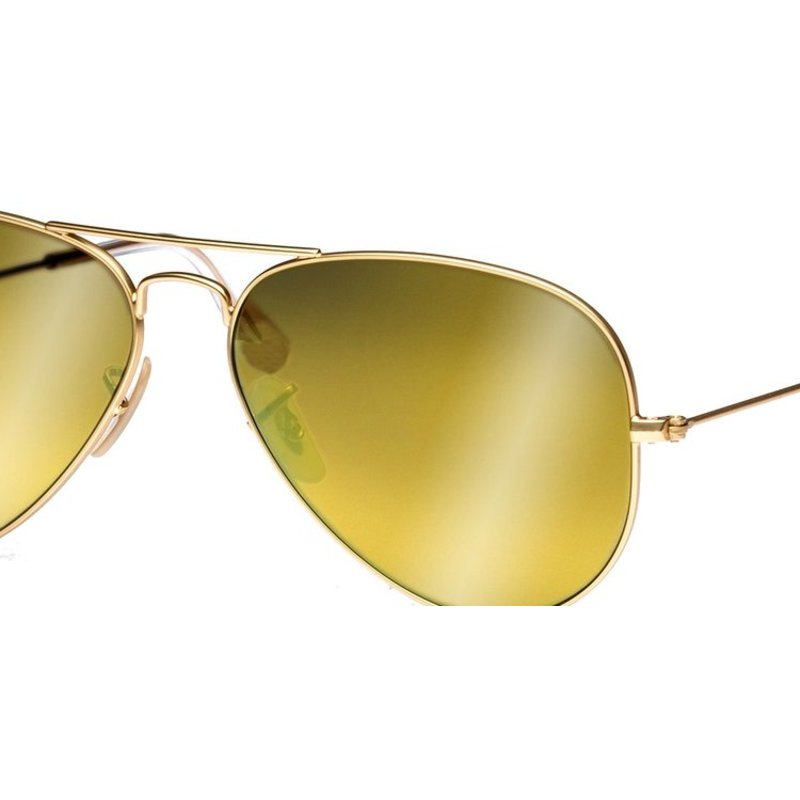 classic ray ban sunglasses  ray ban mirrored gold