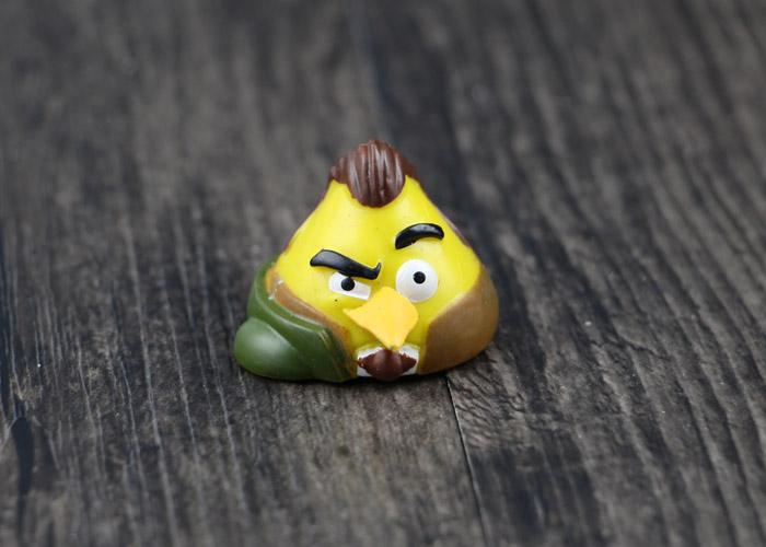 丝达通 星球大战版愤怒的小鸟 卡通动漫周边 动物玩偶 扭蛋公仔送小