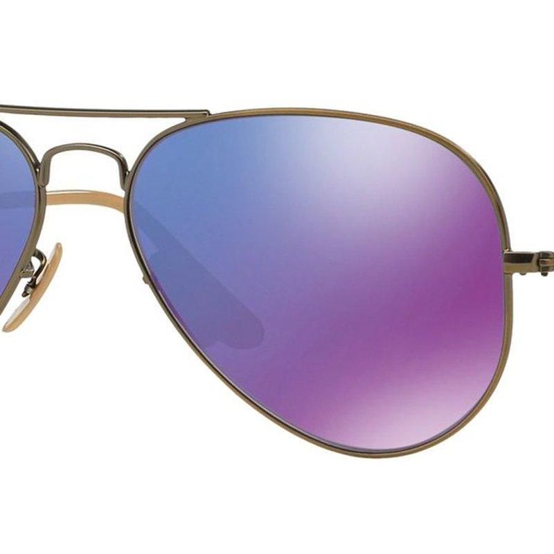 ray ban original wayfarer sunglasses  ray-ban mirror purple
