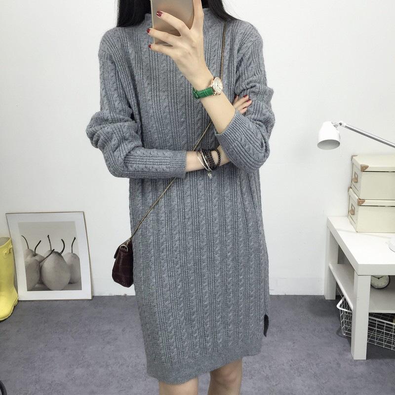 欧若珂 2015秋冬季高领毛衣针织衫秋款女装打底衫长袖
