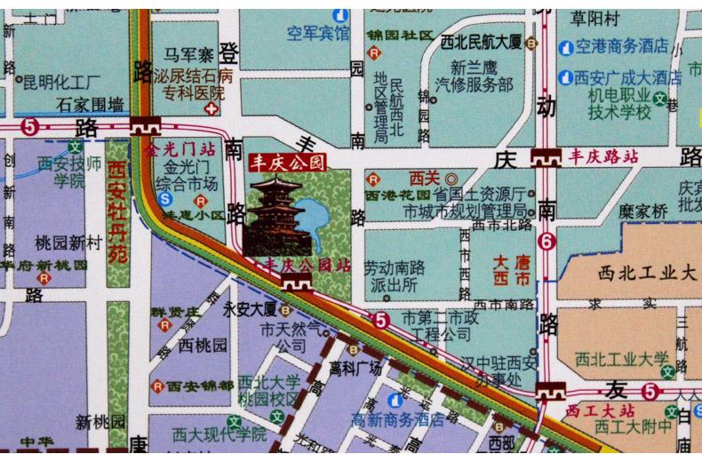 基本书名信息:西安城区图v书名:西安地图出版社审高中完学图片