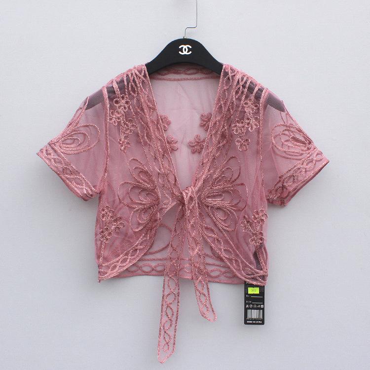 蕾丝小外套短款披肩