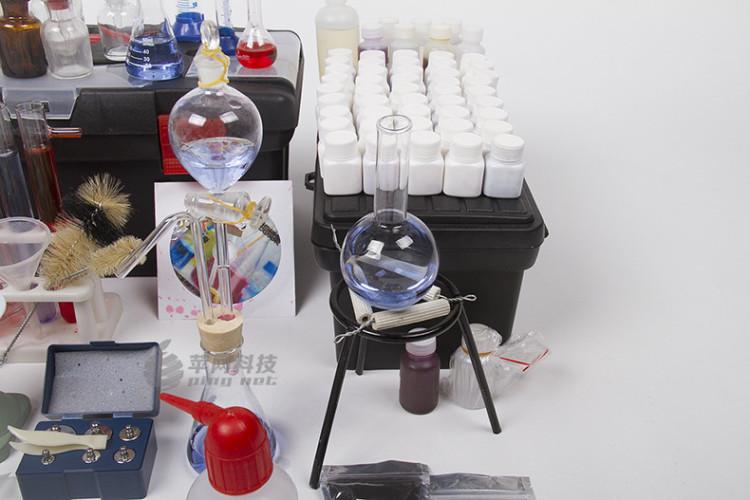 初中高中化学探究器材 家庭试验室 教具化学实验箱标配版图片