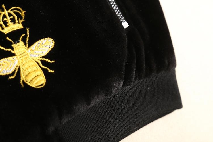 小蜜蜂绣花图片大全