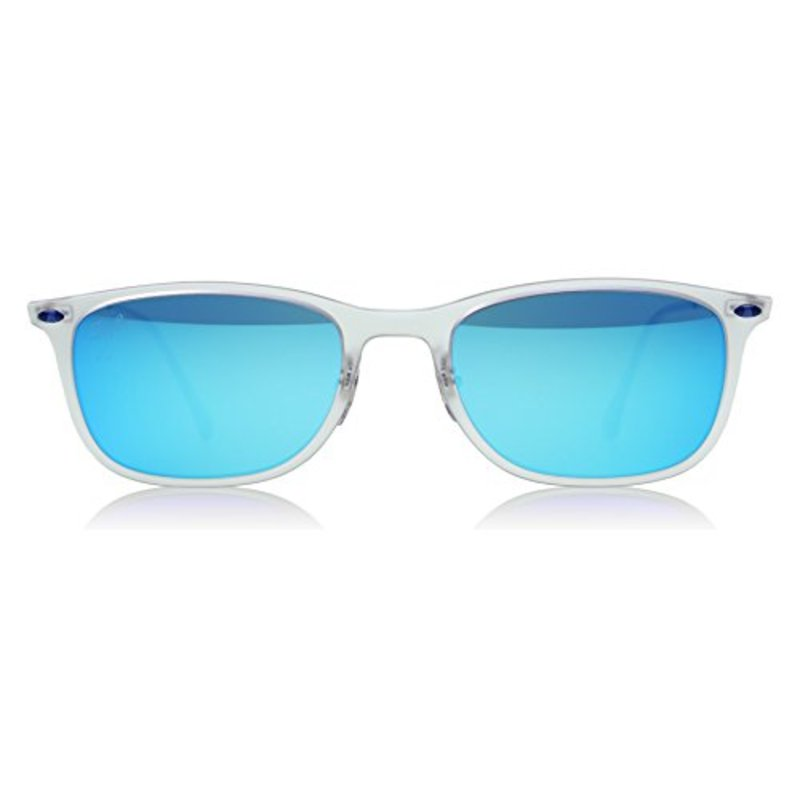 blue burberry sunglasses  sunglasses in matte transparent
