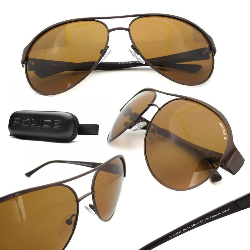 dark blue aviator sunglasses  police sunglasses