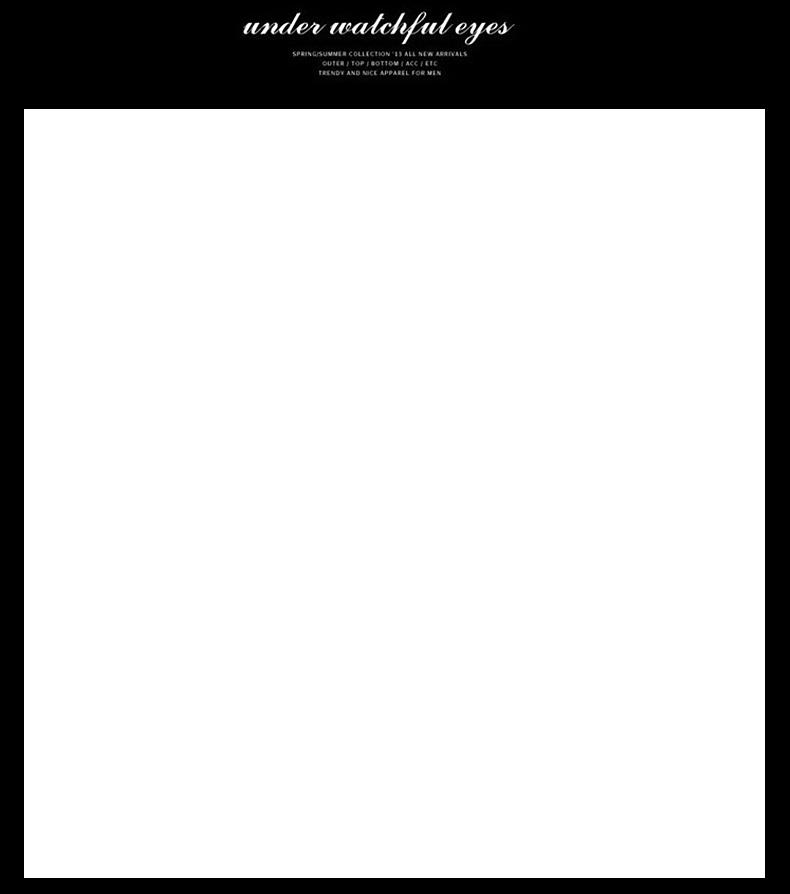 嘉艾儿 2016春秋新款男士休闲t恤日系韩版时尚v领印花