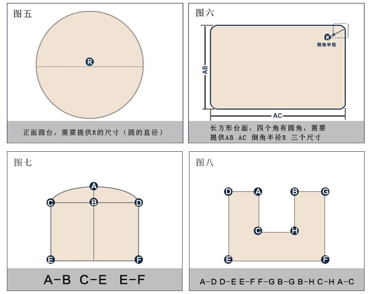 大圆桌平面图素材