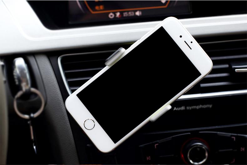 澳特赛 汽车手机支架 车用出风口手机支架苹果iphone三星小米手机支架