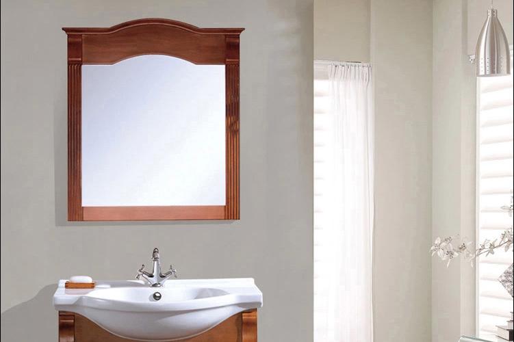 欧磁卫浴 欧式大理石台面卫浴柜橡木浴室柜组合落地