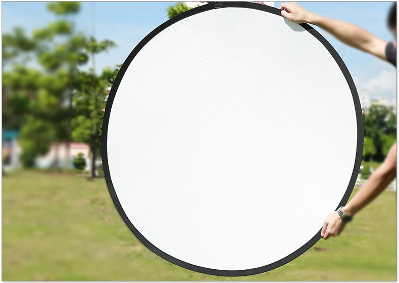 神牛正品110cm五合一反光板便携 摄影挡光板柔光板 折叠摄像补光板