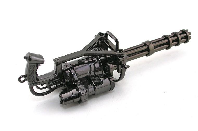 精品cf穿越火线加特林英雄武器枪模黄金加特林模型雷神玩具 刀架武器图片