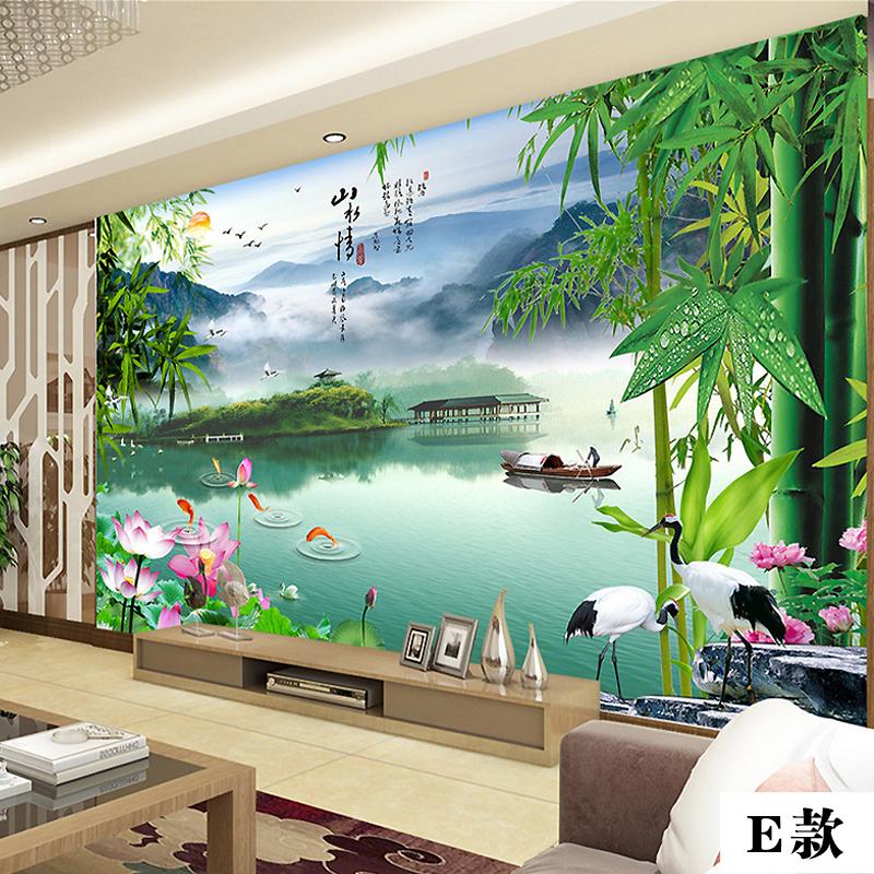 客厅壁画现代时尚