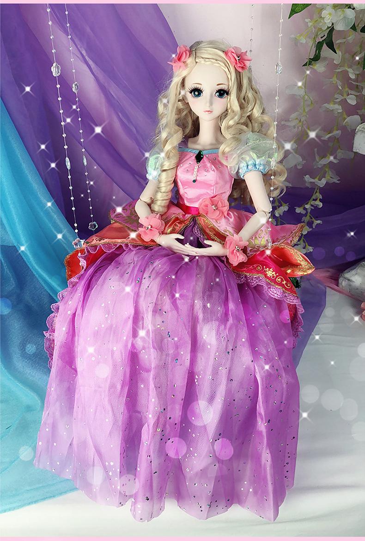 叶罗丽 娃娃儿童60厘米小娃娃女孩玩具灵公主精灵梦夜图片