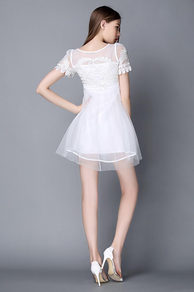 连衣裙短裙夏季