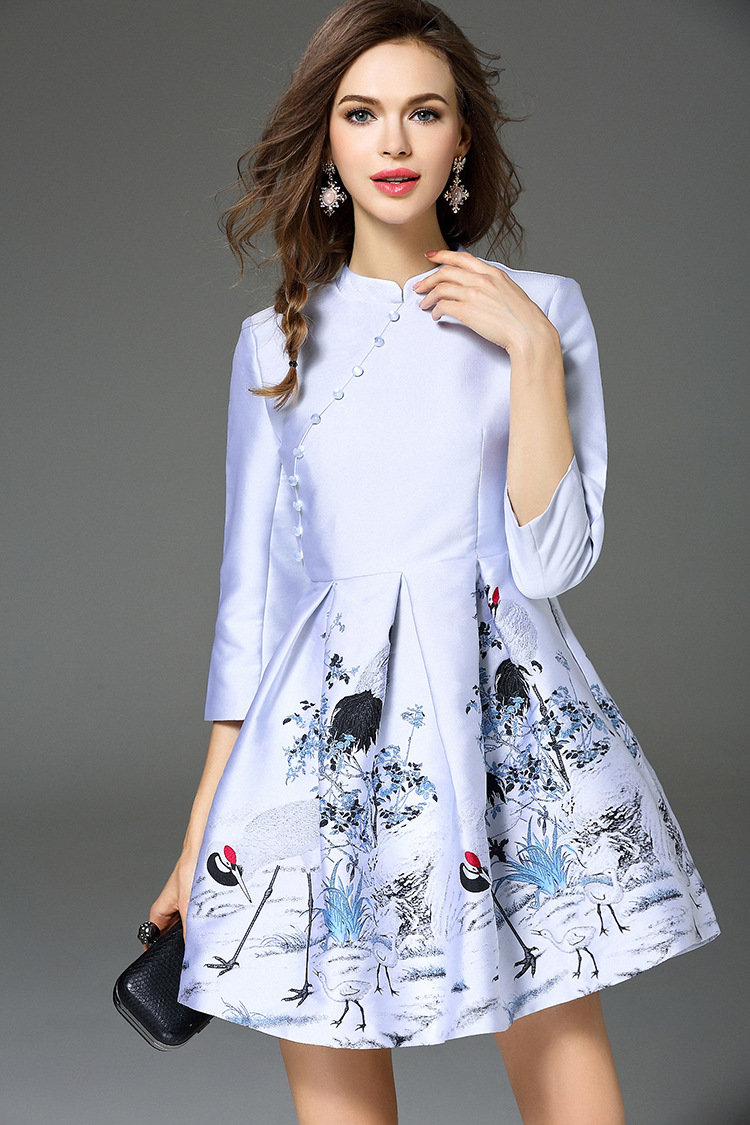 穿带鹤图案的衣服好吗