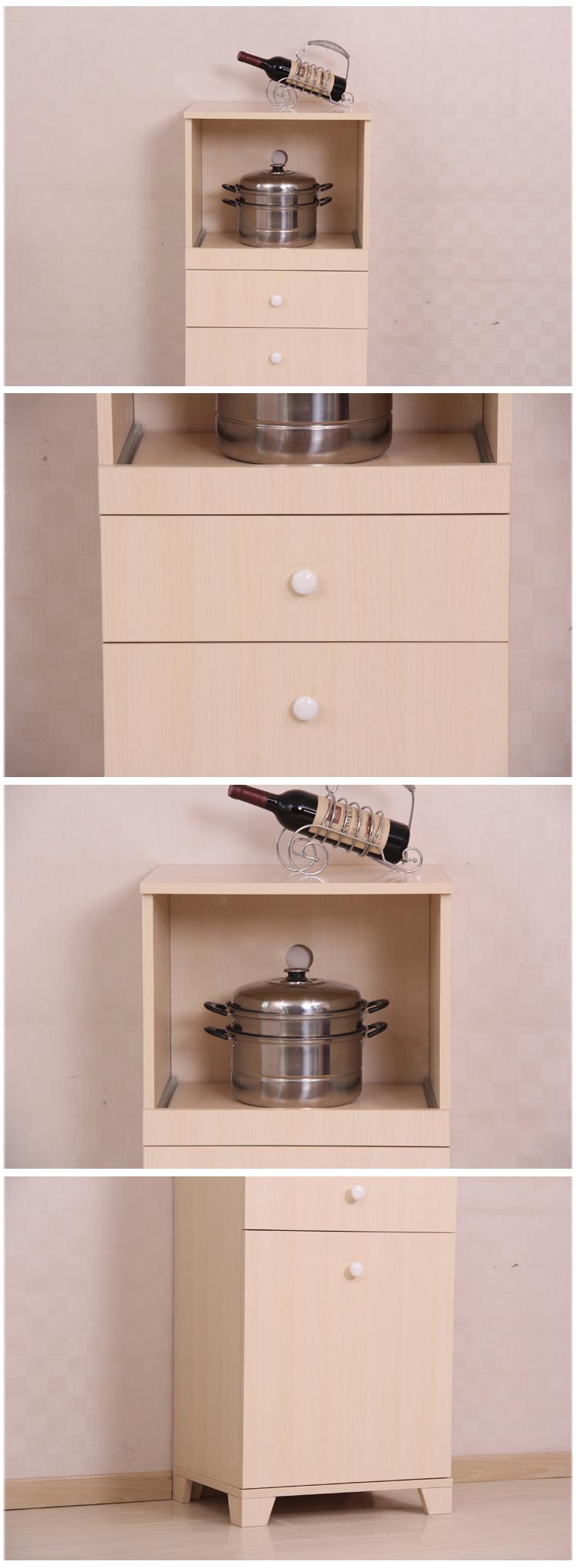 汉傲家具 现代简约时尚多功能橱柜 板式橱柜 餐厅储物图片