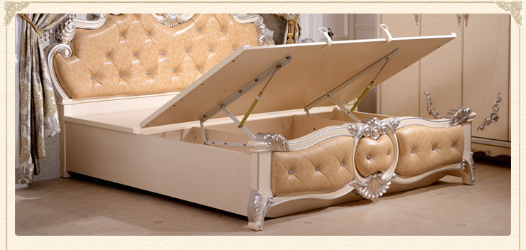 欧式床 法式床图片