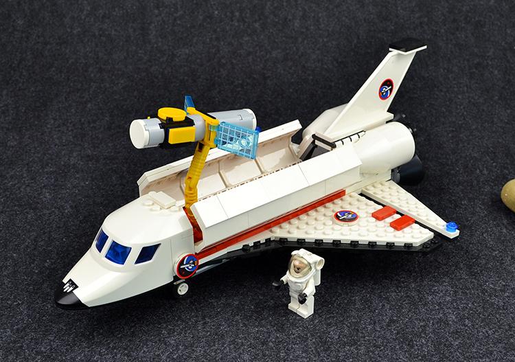 益智拼装乐高积木玩具事航天飞机航空火箭模型男孩生日礼物