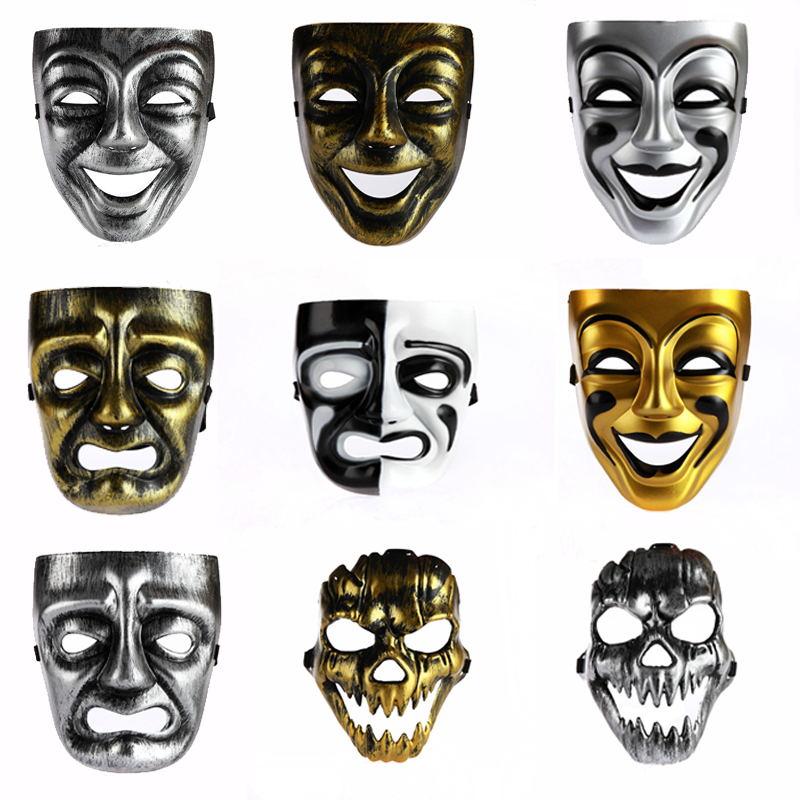 儿童节舞会面具 派对面具 古希腊酒神脸谱面具 哭脸面具 笑脸面具