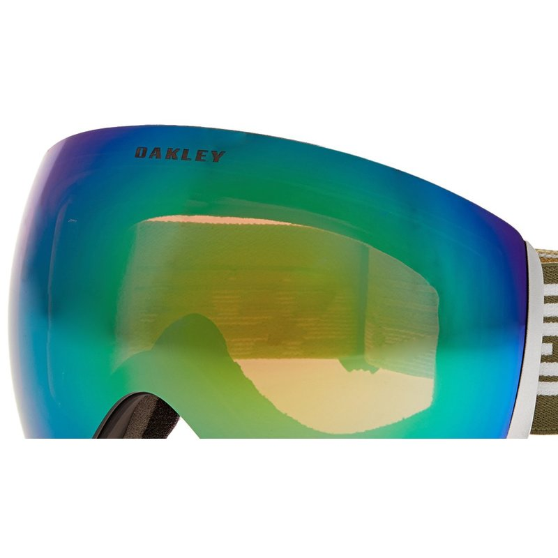 ski goggles orange  flight deck ski