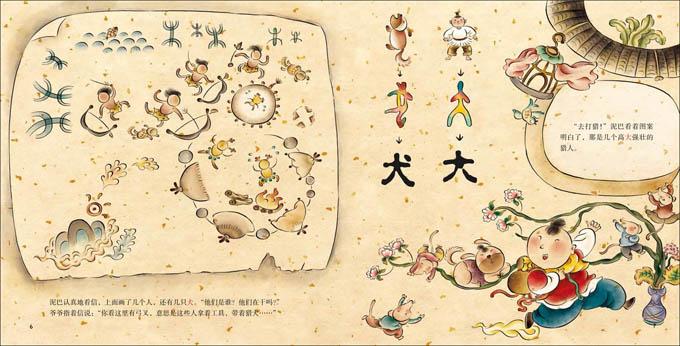 古森林的来信 象形字一 如意 王早早-求初恋的绘本日文歌词汉字标注