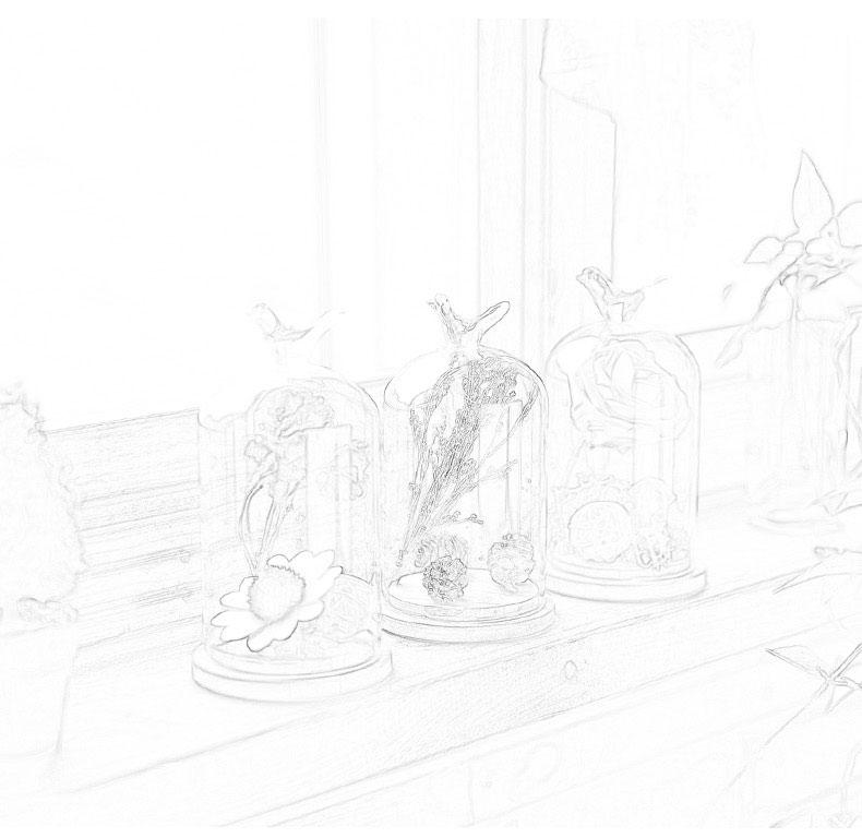手绘商品陈列图片