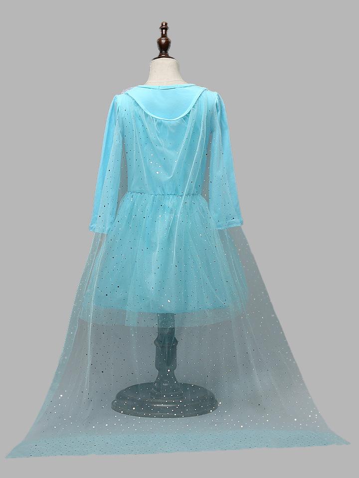 冰雪奇缘公主裙儿童礼服女童连衣裙fz291 z002 100cm
