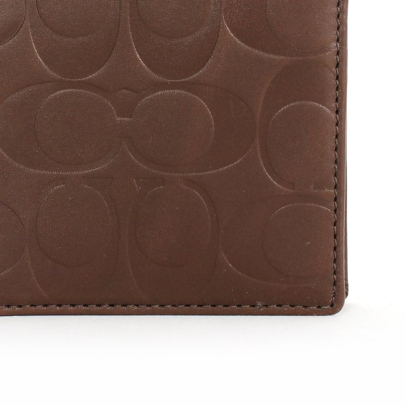 coach outlet mens wallet  mens signature