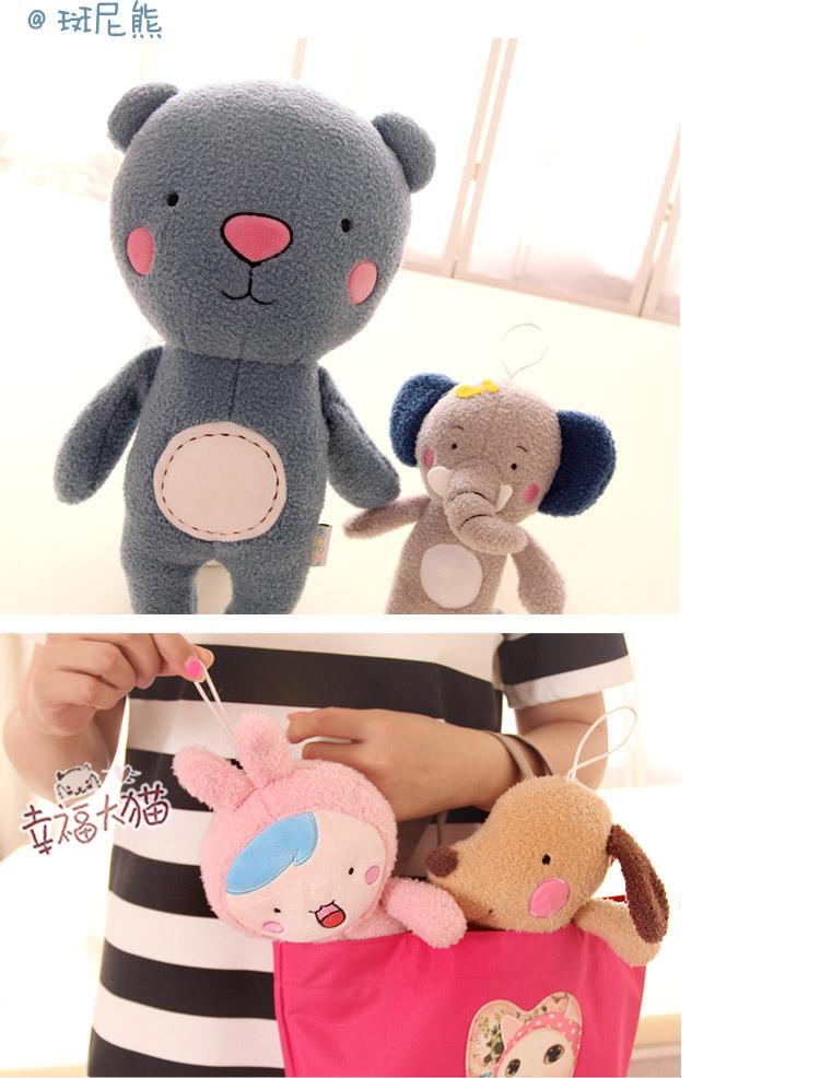 熊毛绒玩具森林动物