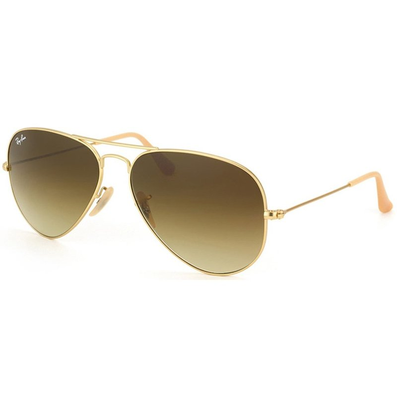 aviator ray ban gold  112/85 58m gold