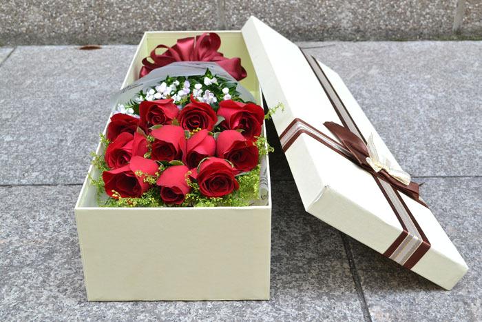 情人节湛江广西南宁玫瑰花礼盒鲜花速递昆明杭州重庆长沙福州贵阳鲜花