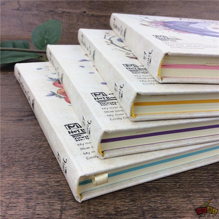 【封面】:先锋时尚设计 【内芯】:有5种不同的格式(页 彩色纸 方格页