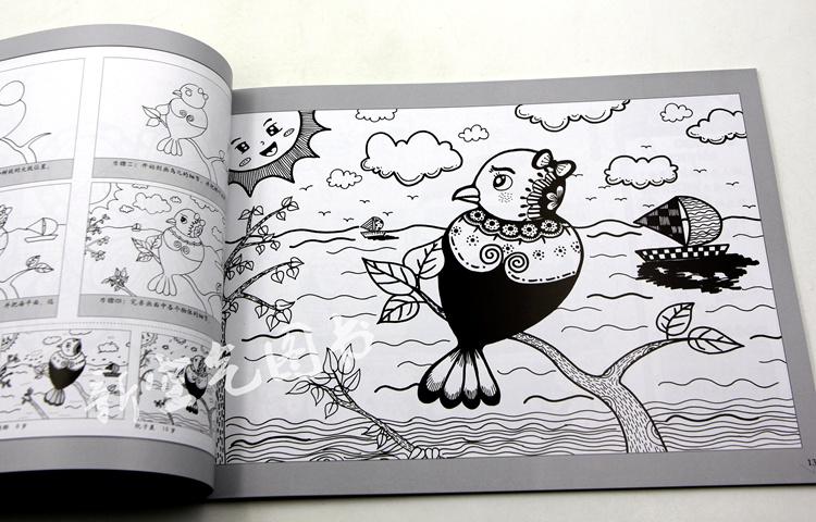 创意画儿童水彩素描国画培训
