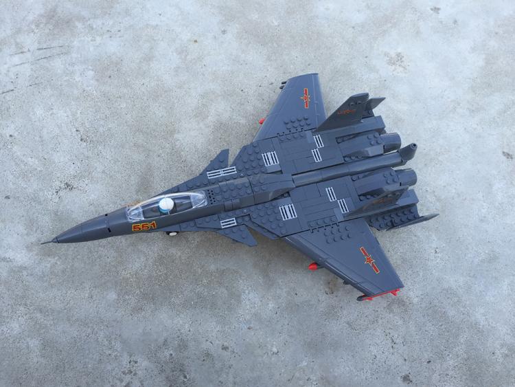 乐高积木玩具军事飞机小颗粒益智拼装组男孩战斗机3-6