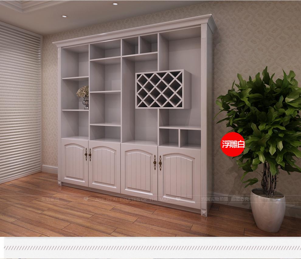 东彩家具全屋定制门厅客厅酒柜时尚装饰展示柜现代简约隔断屏风玄关柜