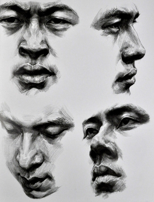 目录 五官练习/1 人物头像分析/6 头像写生步骤/8 头像半小时速写与