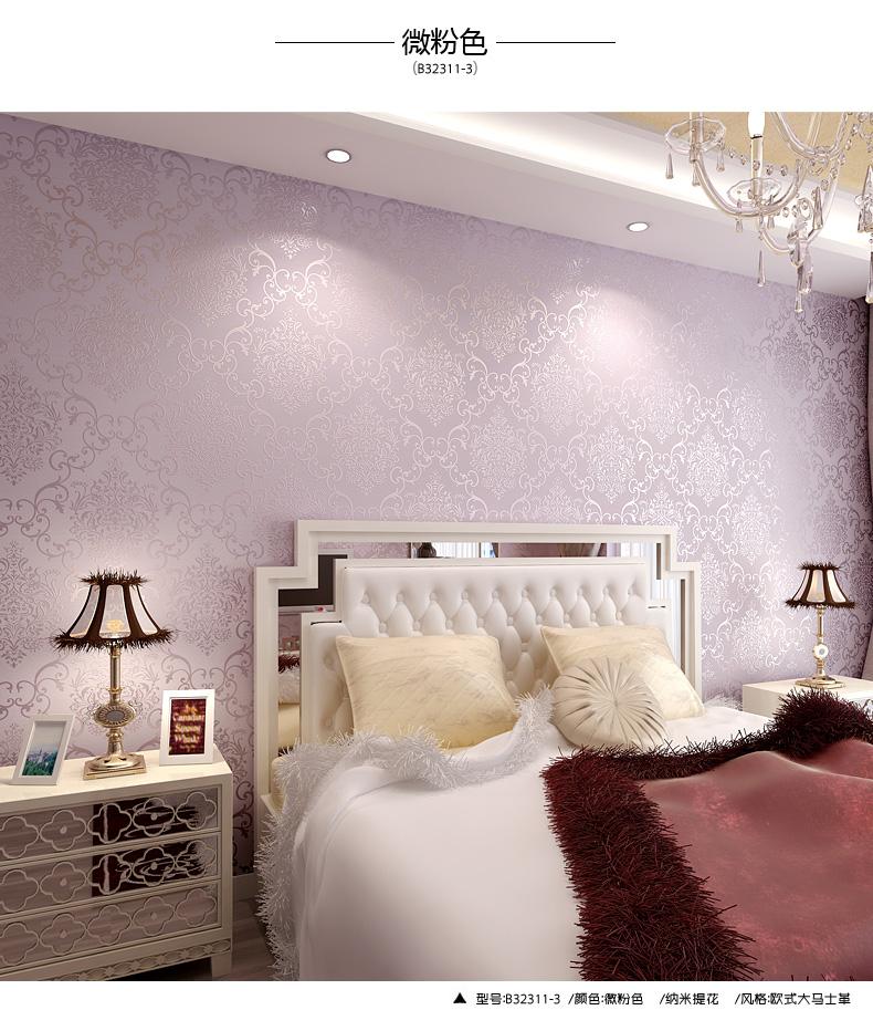 恩流无纺墙布壁布欧式卧室客厅背景墙纸壁纸立体环保升级3d版 2311 2.图片