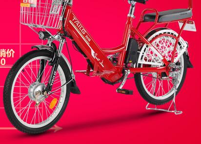 台铃电动自行车 48v电动车锂电池20寸铝合金助力车 小图片