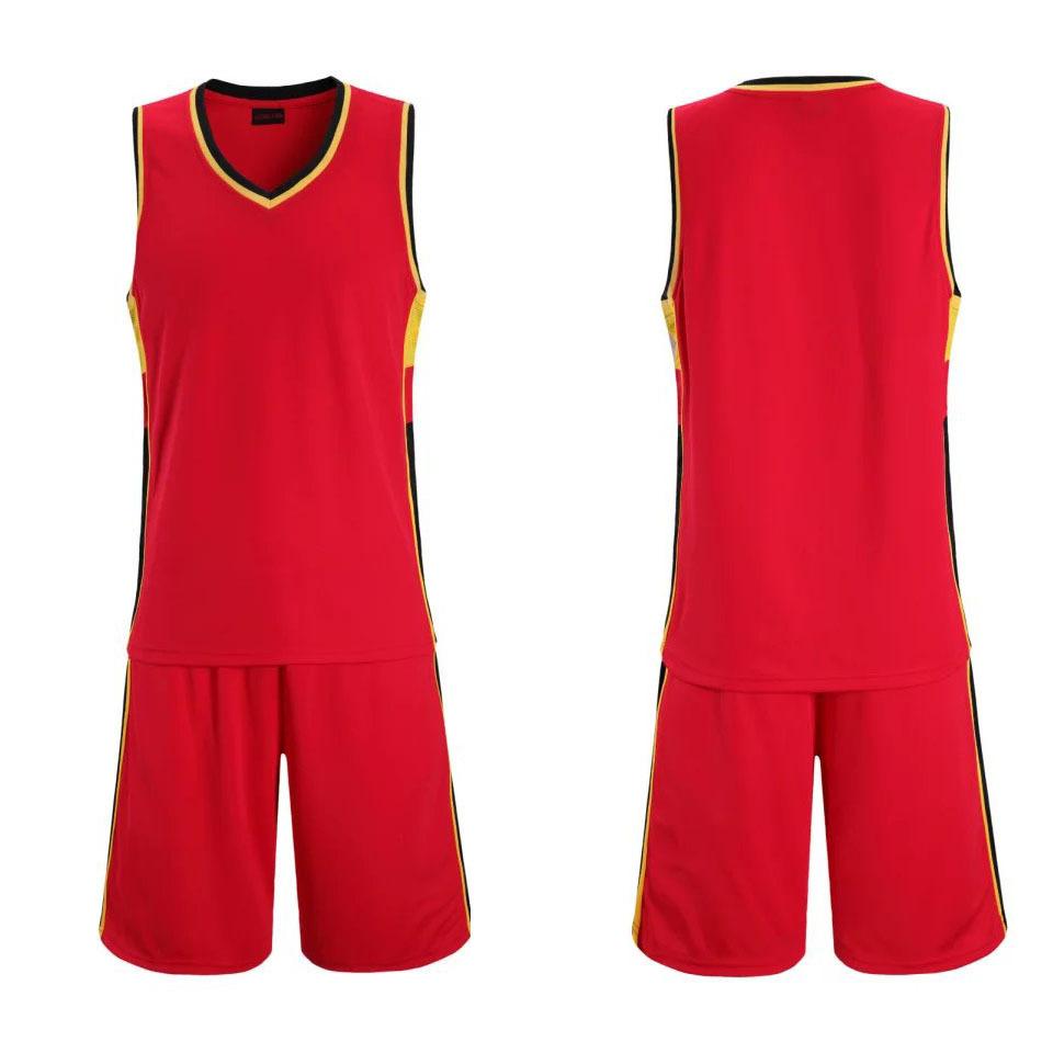 篮球服-篮球球衣矢量图