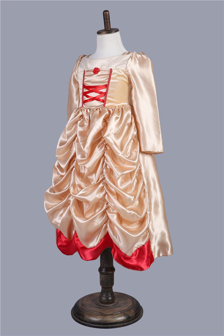 儿童迪士尼公主裙子 童裙2016新款夏季公主裙 女童连衣裙fz345 永丽