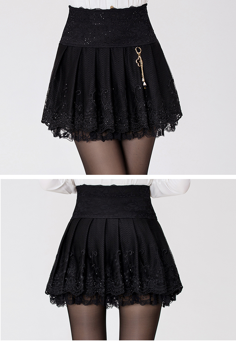 短裙款式设计图展示